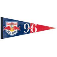 "RED BULL NEW YORK FC Premium Style Fan Pennant 12""x 30"""