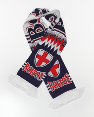 BOLTON WANDERERS   FC Authentic Fan Scarf