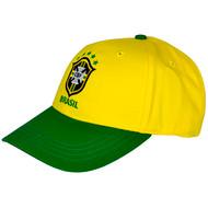 BRAZIL Official Yellow Baseball Cap