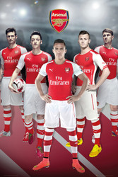 ARSENAL FC  PLAYERS  Official Soccer Player Poster 14/15-#119