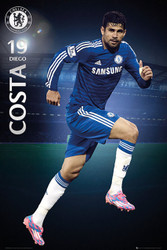 CHELSEA FC  Official Diego Costa Poster 14/15-#144