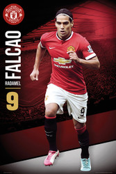 MANCHESTER UNITED FC Official Radamel Falcao Poster 14/15-#166