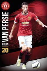 MANCHESTER UNITED FC Official Robin Van Persie Poster 14/15-#167