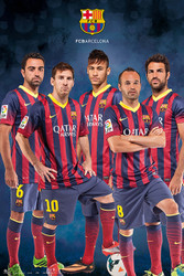 BARCELONA FC Official Players Montage 13/14-#767