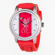 LIVERPOOL FC Red Licensed Team Watch with Official Crest