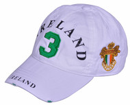 Robin Ruth Licensed Ireland Polo Cap White/Green #3