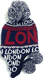 Robin Ruth Licensed London Adult Sacha Hat  Navy/Red