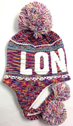 Robin Ruth Licensed London Adult Jasmine Hat  Rainbow/White