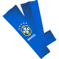 CBF Brasil Sleefs Compression Sleeves - Blue Large Pair