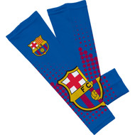 Barcelona FC Sleefs Compression Sleeves -Blue Crest Pair