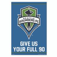 MLS Licensed Seattle Sounders Crest-#93
