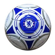 CHELSEA WHITE STAR #5  Licensed Soccer Ball