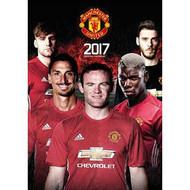 MANCHESTER UNITED FC Official Team Calendar 2017