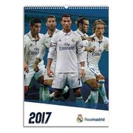 REAL MADRID FC Official Team Calendar 2017