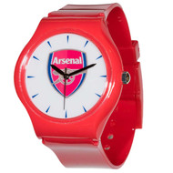 38mm Arsenal FC Red Licensed Team Watch with Official Arsenal Crest - Buy Online SoccerMadUSA.com