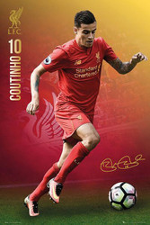 LIVERPOOL COUTINHO Official Soccer Player Poster 2016/17-#393