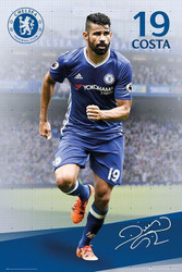 CHELSEA DIEGO COSTA  Official Soccer Player Poster 2016/17-#391