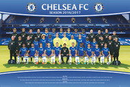 CHELSEA OFFICIAL TEAM  Poster 2016/17-#406