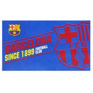 """Barcelona FC """"Established"""" Style Licensed Flag 5' x 3' - Buy Online SoccerMadUSA.com"""