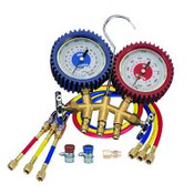 MasterCool MSC 98772 Dual Brass Manifold Gauge Set
