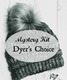 Mystery: Dyer hand-picks skein and pom