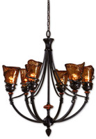 Vitalia, 6 Light Chandelier