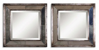Davion Squares, Set Of 2 Mirrors