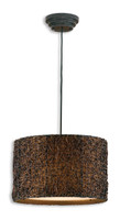 Knotted Rattan Hanging Pendant Light