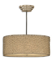 Brandon Silver Hanging Pendant Light