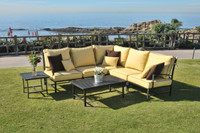 san michele 7pc outdoor patio sectional (39 cushion colors)