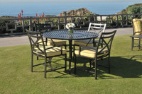san michele 5 pc outdoor patio dining set (39 cushion colors)