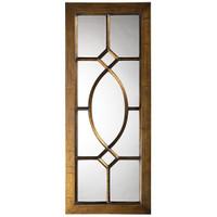 Dayton Rectangular Windowpane Framed Wall Mirror