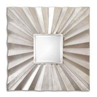 Adelmar Metal Square Mirror