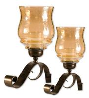 Joselyn Bronze Candleholders Set/2