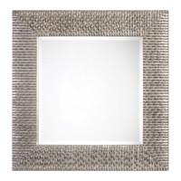 Cressida Distressed Silver Square Mirror