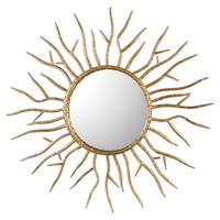 Astor Gold Starburst Mirror