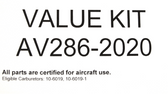 AV286-2020 Major Repair Kit