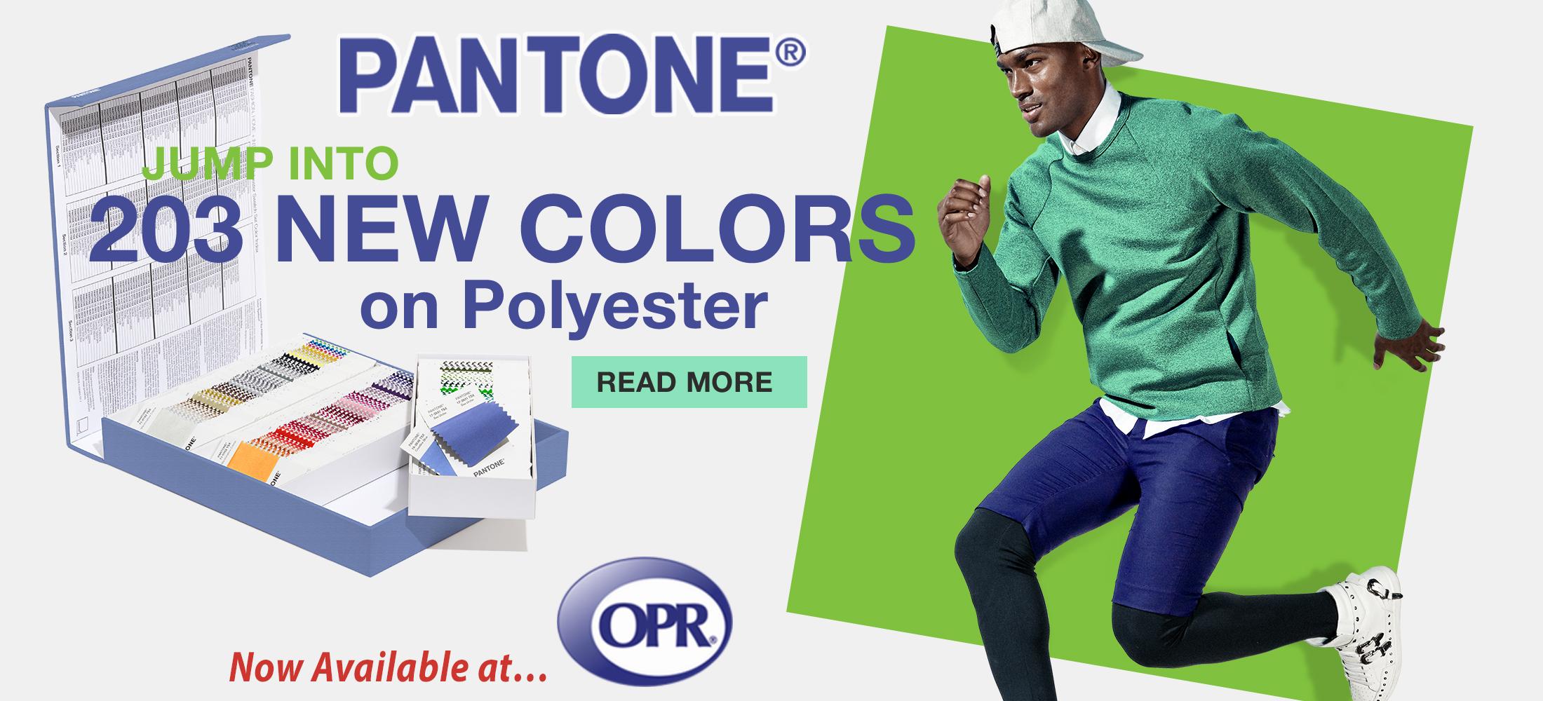 Pantone Polyester