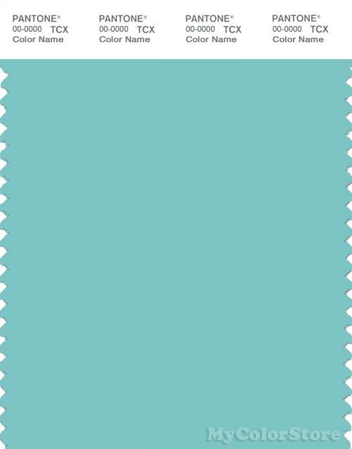 PANTONE SMART 14-4811 TCX Color Swatch Card, Aqua Sky