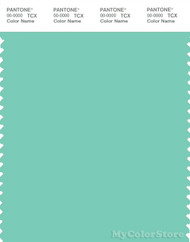 PANTONE SMART 14-5714X Color Swatch Card, Lucite Green