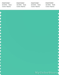 PANTONE SMART 14-5721X Color Swatch Card, Electric