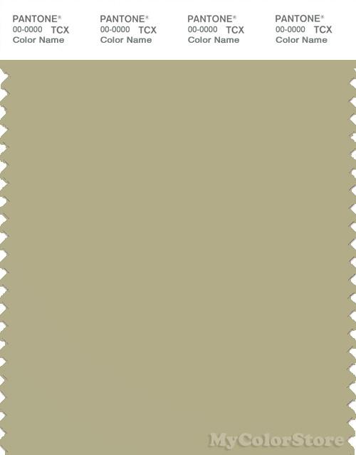 PANTONE SMART 15-0318X Color Swatch Card, Sage Green