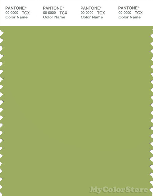 PANTONE SMART 15-0336X Color Swatch Card, Herbal Garden