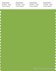 PANTONE SMART 15-0343X Color Swatch Card, Sgreenery