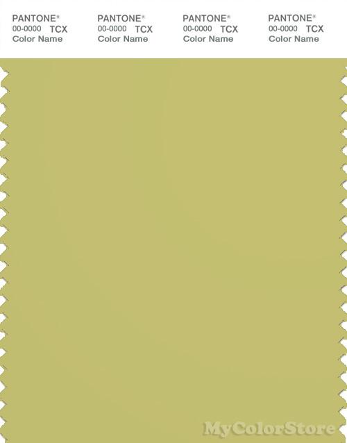 PANTONE SMART 15-0533X Color Swatch Card, Linden Green