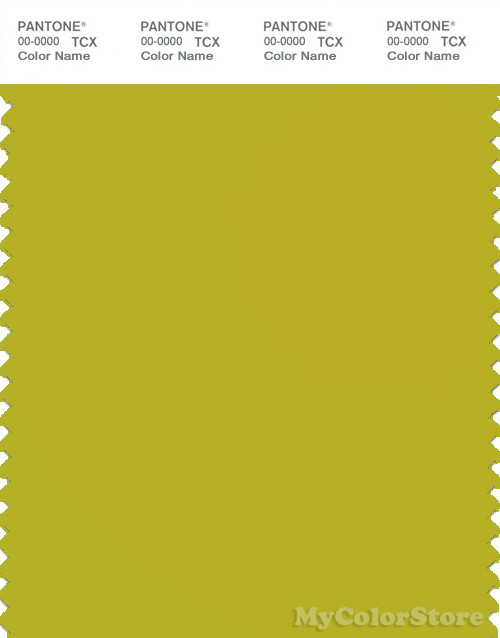 PANTONE SMART 15-0548X Color Swatch Card, Citronelle