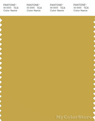 PANTONE SMART 15-0743X Color Swatch Card, Oil Yellow