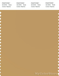 PANTONE SMART 15-0927X Color Swatch Card, Pale Gold