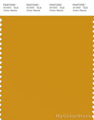PANTONE SMART 15-0953X Color Swatch Card, Golden Yellow