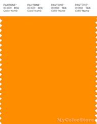 PANTONE SMART 15-1164X Color Swatch Card, Bright Marigold